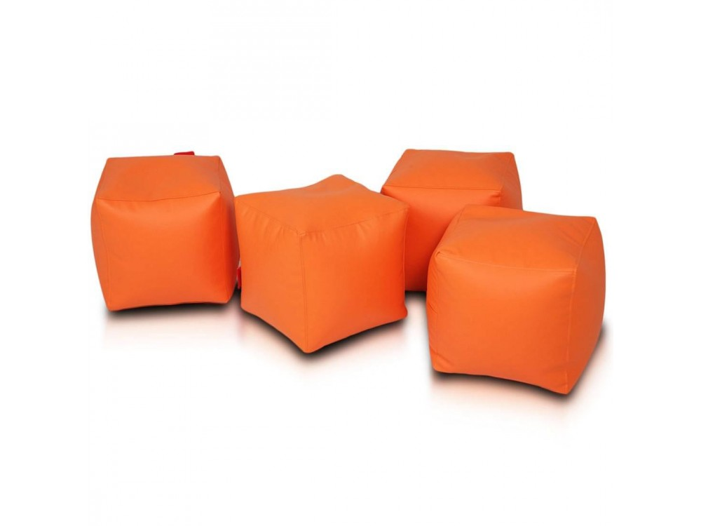 Remarkable Cube Bean Bag Chair 2 Pcs Set Evergreenethics Interior Chair Design Evergreenethicsorg