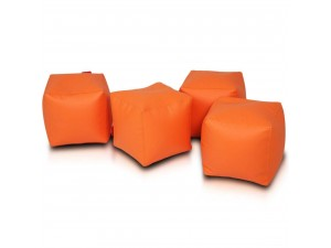 Cube - Bean Bag Chair 2 pcs. Set