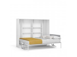 Spazio - Full Size Wall Bed with Desk