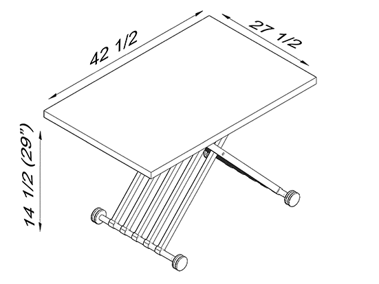 Switch Table Dimensions